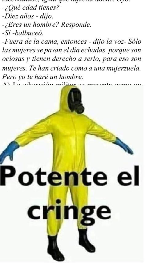 El machismo en Perú - meme
