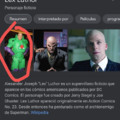 Lex Luthor mariguano