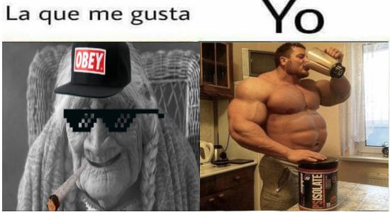 My crush - meme