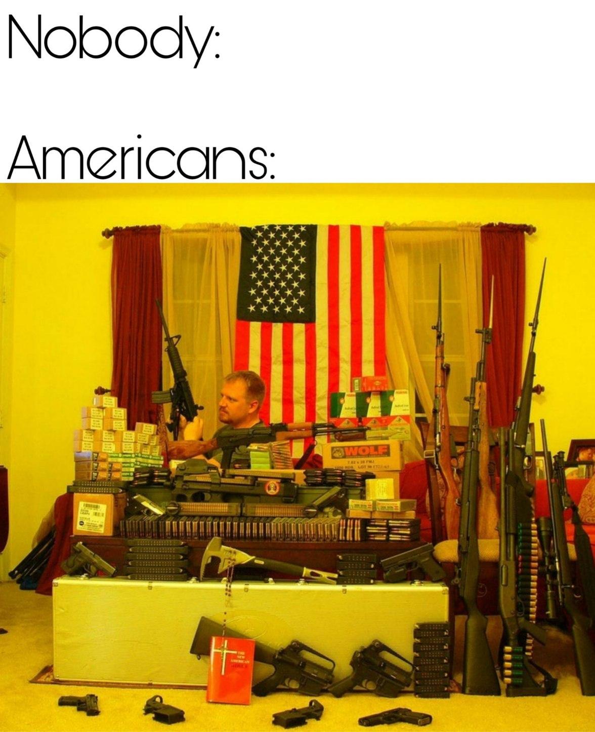 But mah guns - meme