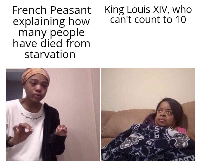 Oversimplified has a new 2 part video on the French revolution - meme