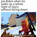 Ninja man Biden