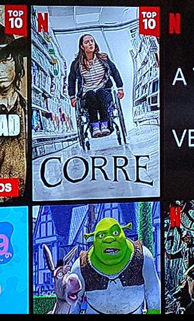 La reacción de Shrek y burro a la portada de corre, XD - meme