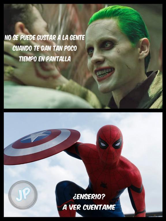 Spiderman 1, Joker 0 - meme