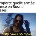 Les Russes quand Napoléon arrive