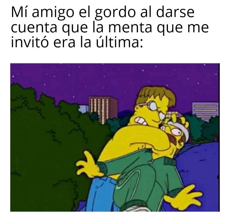 No joda gordo - meme