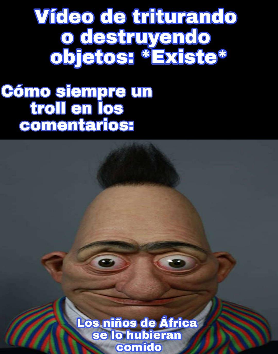 Edit feo - meme