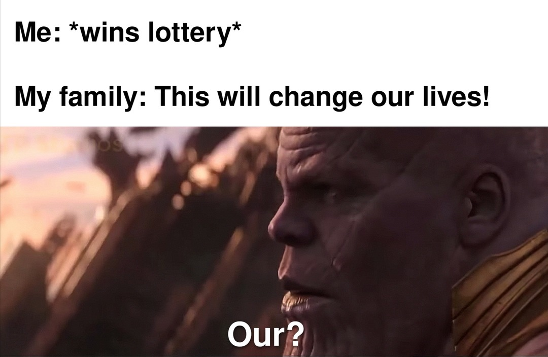 I may have rewatched Infinity War recently - meme