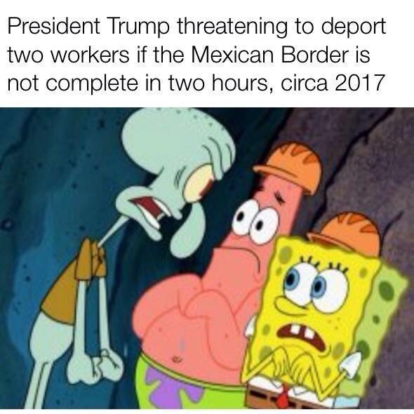 Trump these days - meme