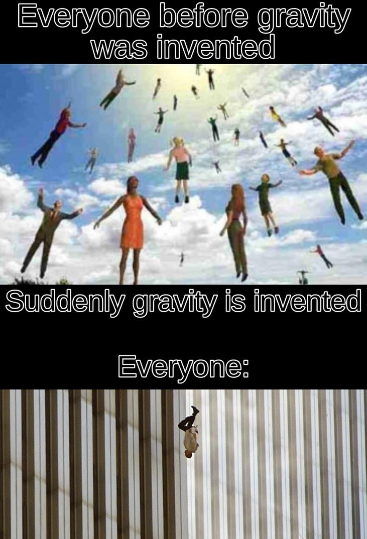 Insert gravity here - meme