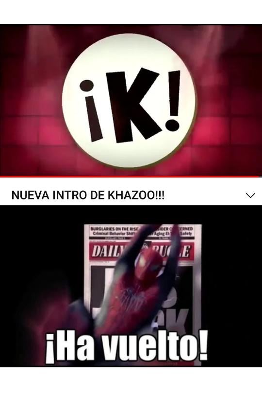 Khazoo volverá :D - meme