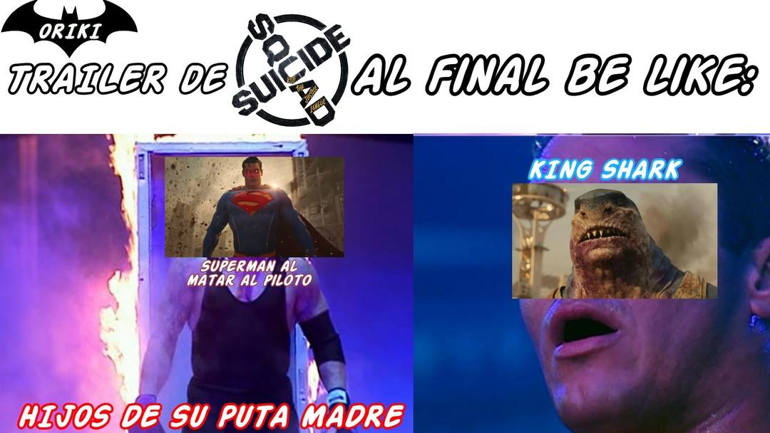 Valio verga el Suicide Squad - meme