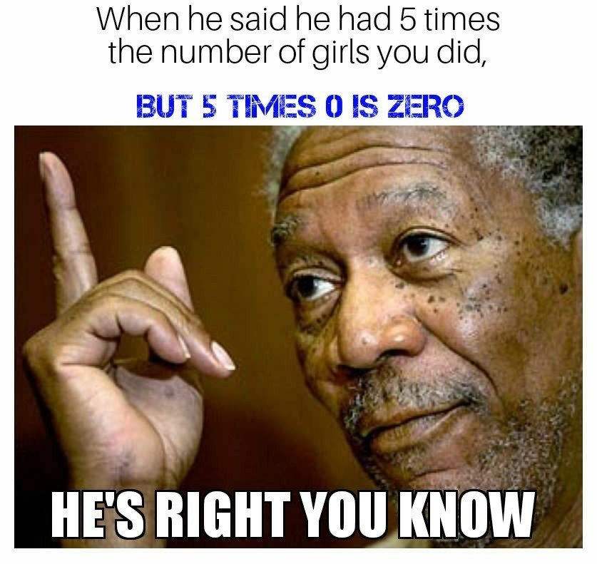 Morgan Freeman - meme