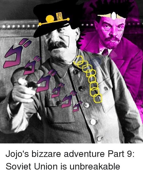 is Stalin the best Jojo ? - meme