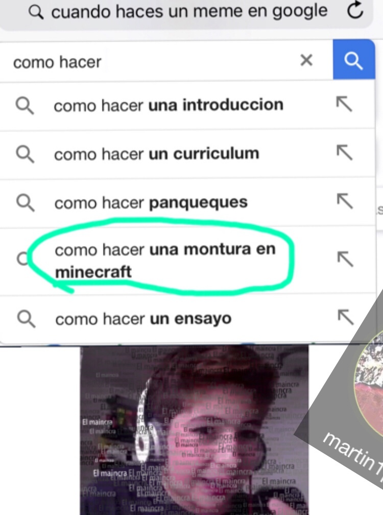 maincra, el maincra, mamamama maincra - meme