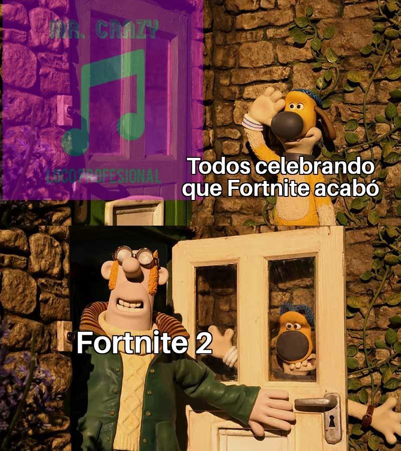 Fortnite Is inevitable - meme