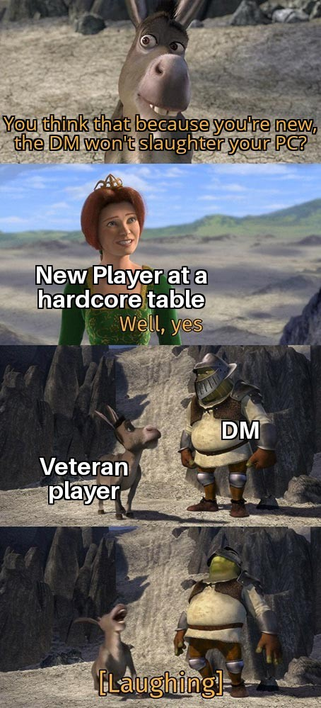 New Players are the best - meme