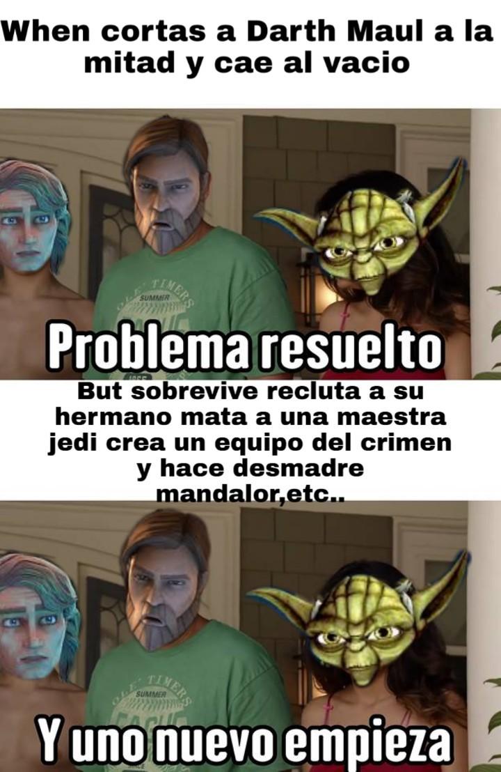 Ste Maul :v - meme