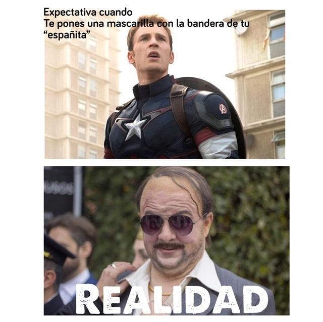 Capitán España - meme