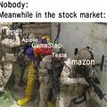 Enquanto isso na bolsa de valores: