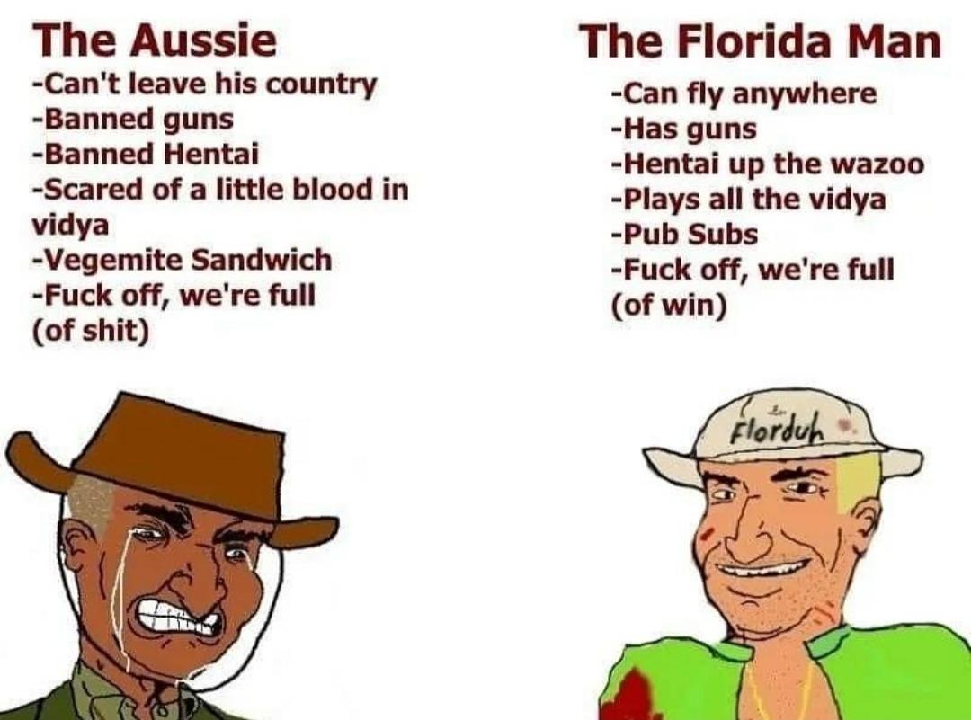 God bless Florida - meme