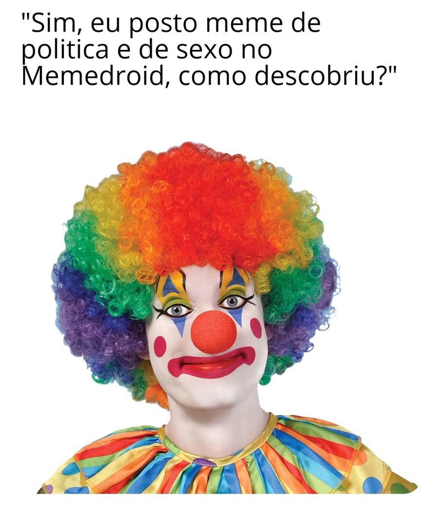 Meme de politica não é bem vindo aqui