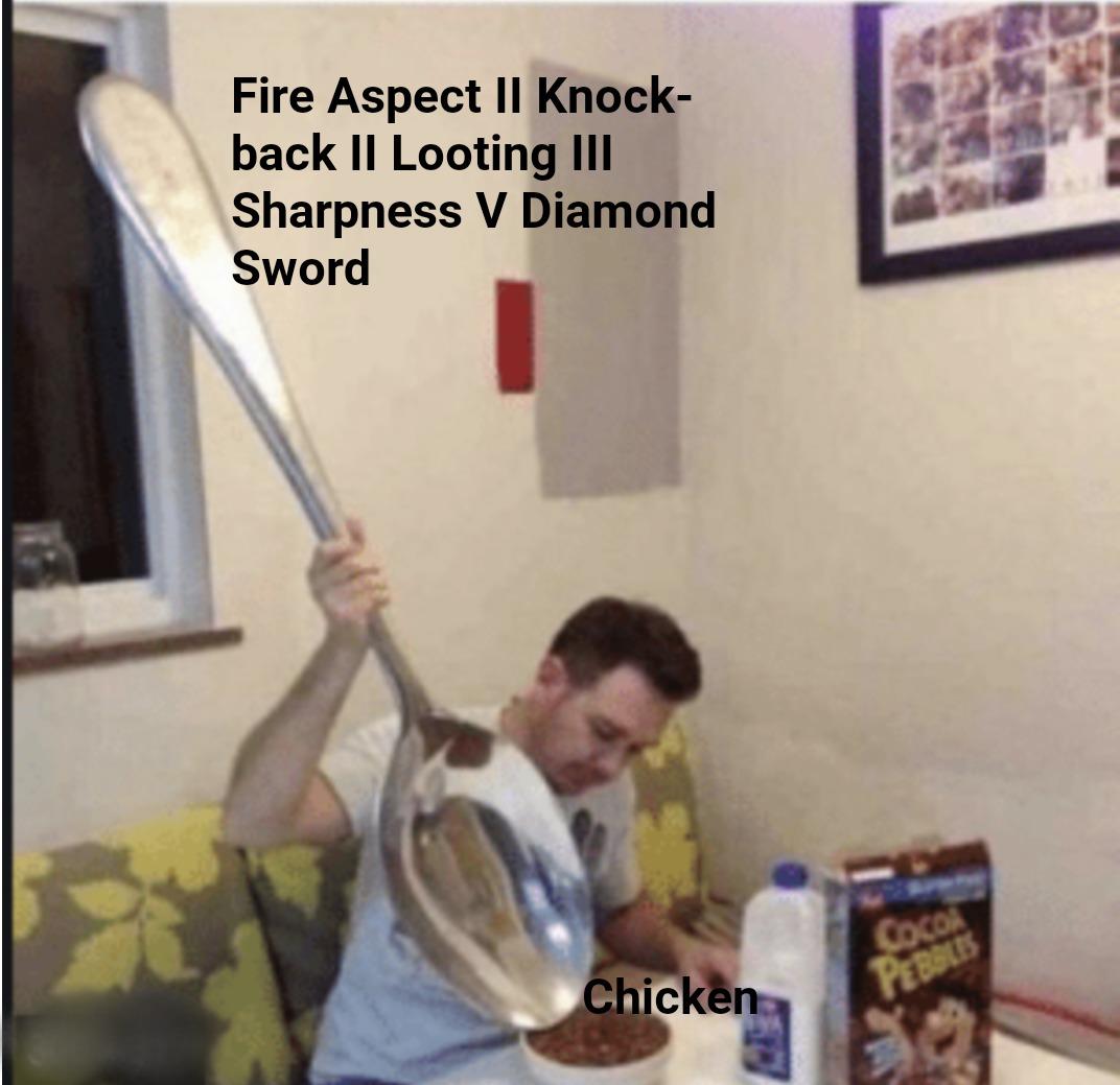 'I want dis chicken' - meme