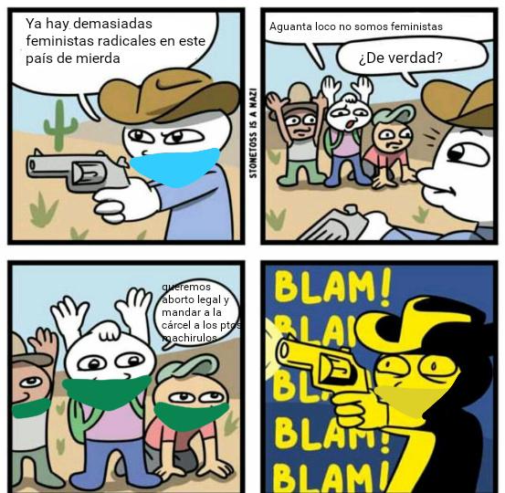 Feminismo Argentina 2018/2019 - meme