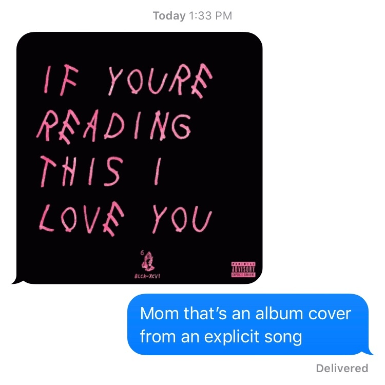 I love my mom ❤️ - meme