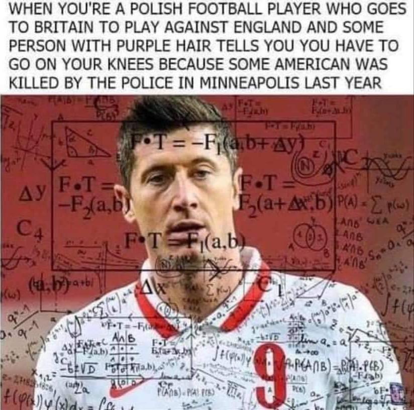 Slavic football/soccer players be like - meme