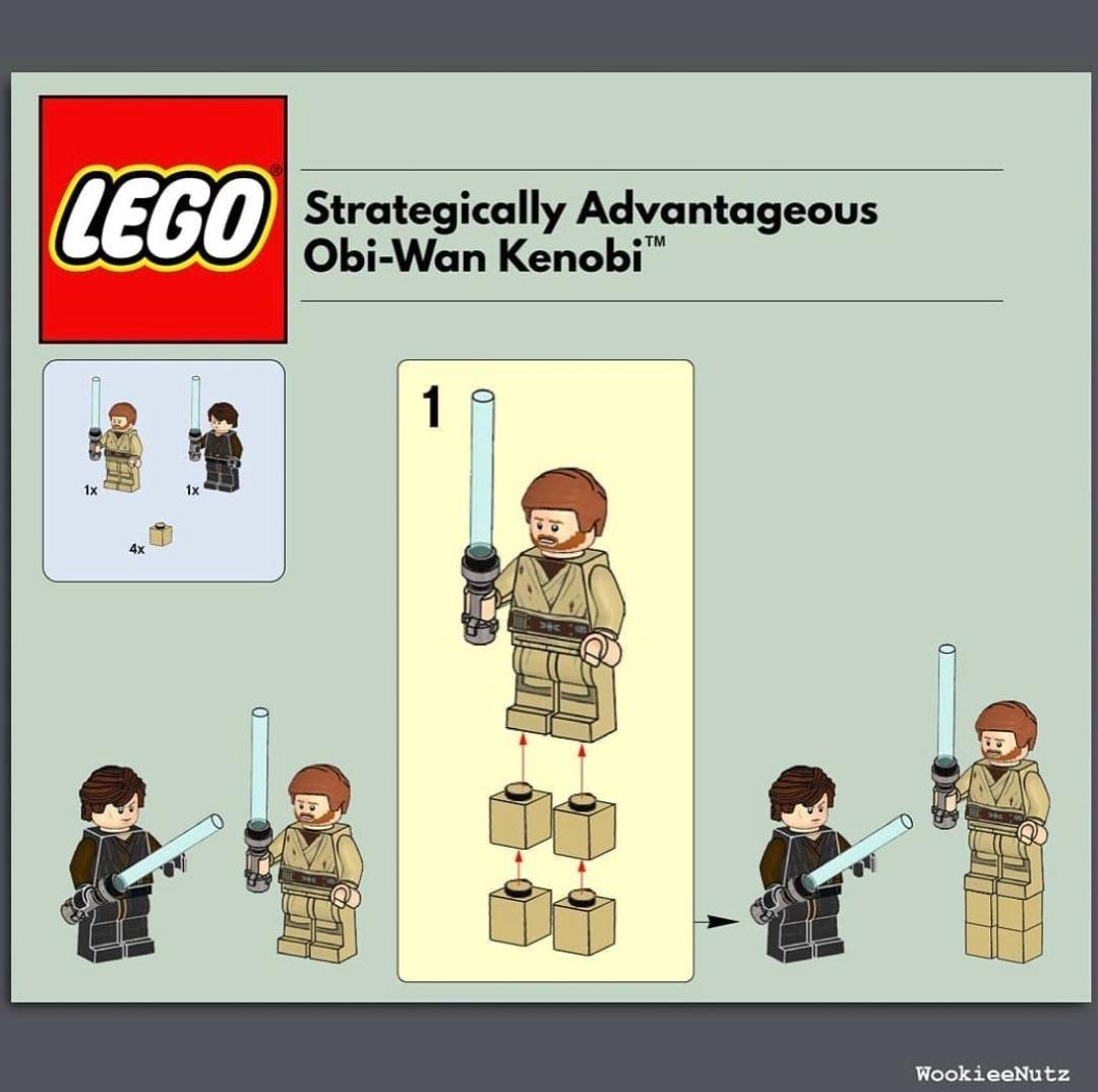 My new favorite Lego kit - meme
