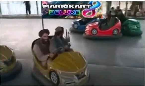 Bomb kart talibanish edition - meme