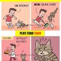 Problème avec des chats non coopératifs