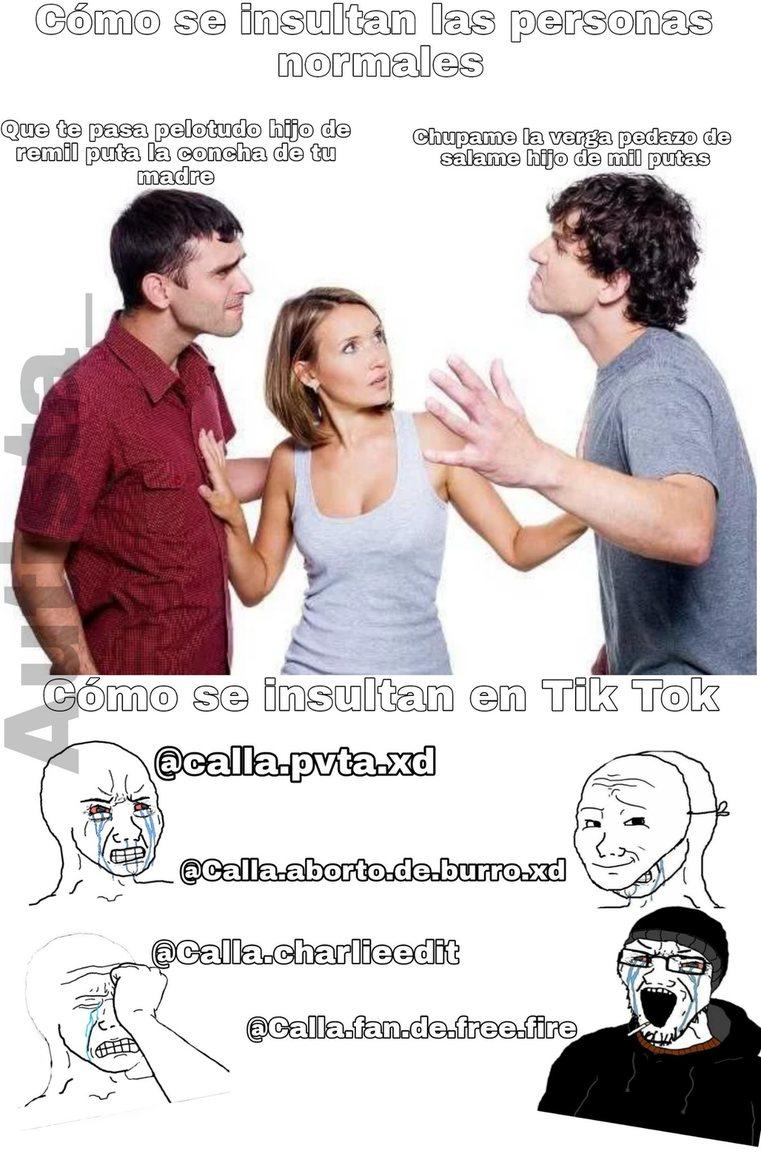 Los panafrescos son iguales o peores que los grasosos - meme