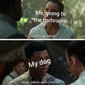 you need backup for ze poopin