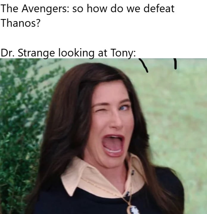 Ever since Tony died, the rest of the year has been shit - meme