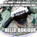 US Army IVAS Googles lets you see through walls