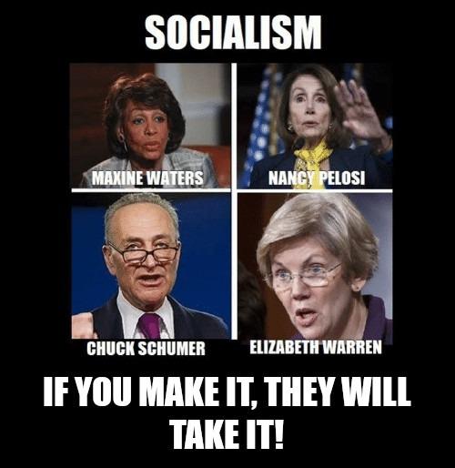Socialism is Stealing - meme