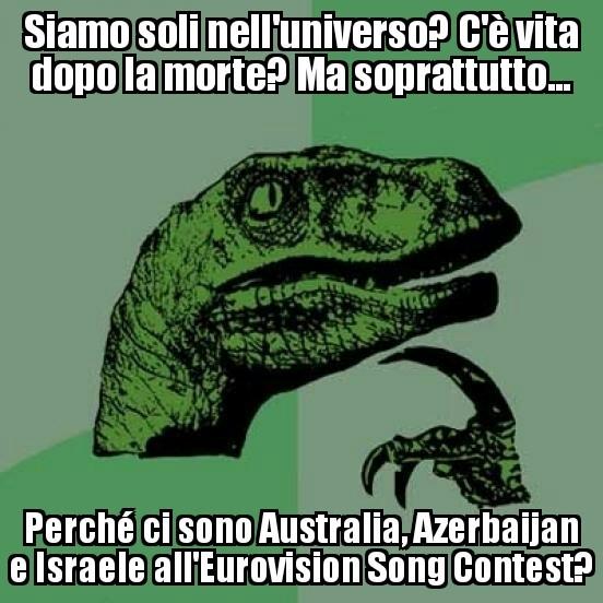 Si chiama Eurovision, non Mondovision - meme
