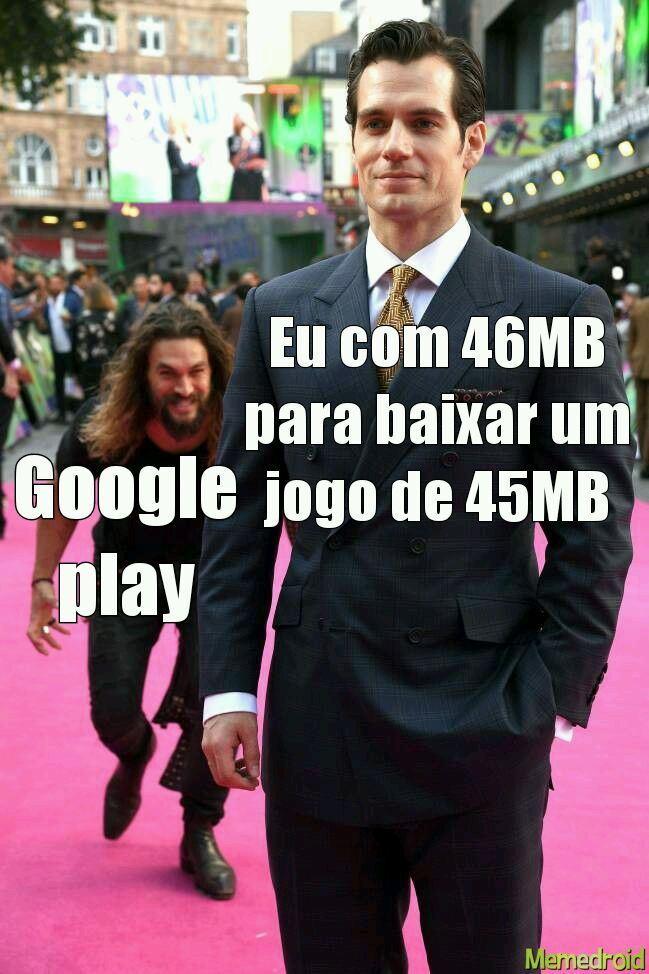 Maldita Google play - meme