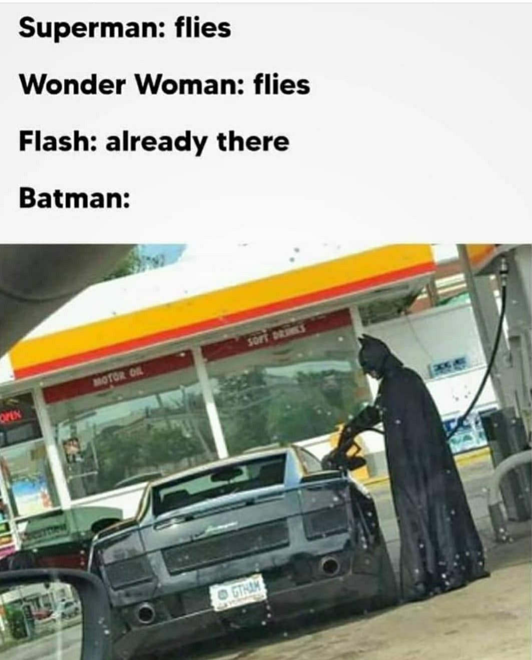 Bat oil - meme