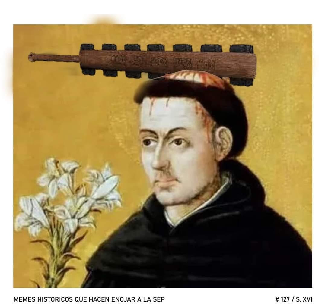 El macuahuitl era un arma hecha de madera con filos de obsidiana a cada lado - meme