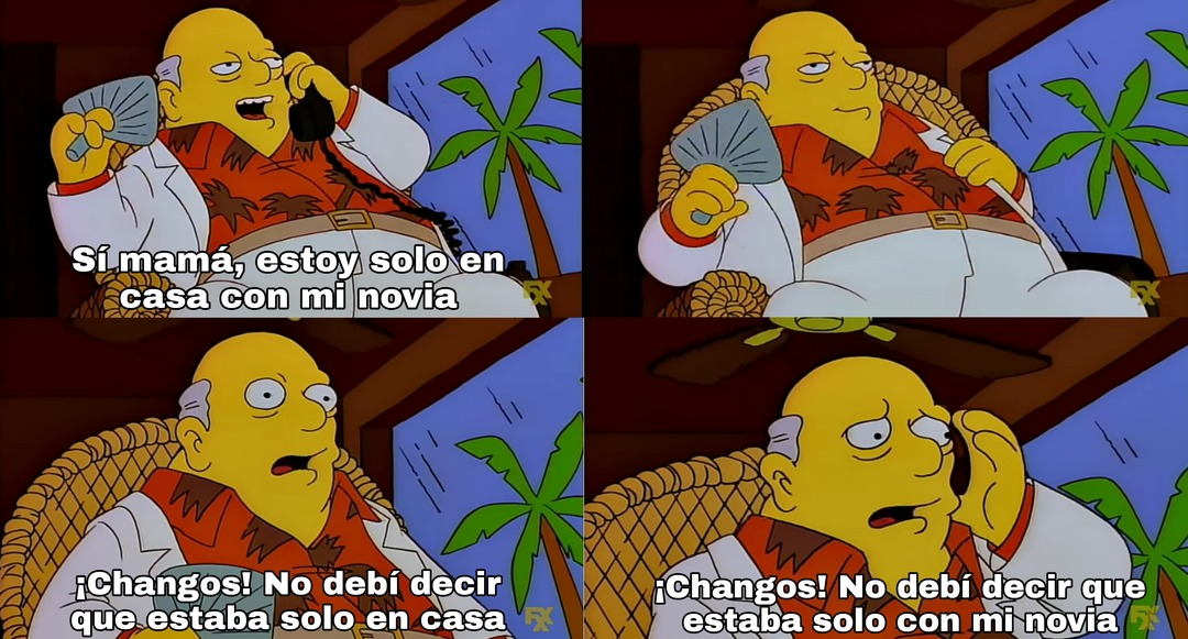 ¡Changos! - meme