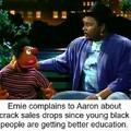 Poor Ernie XD