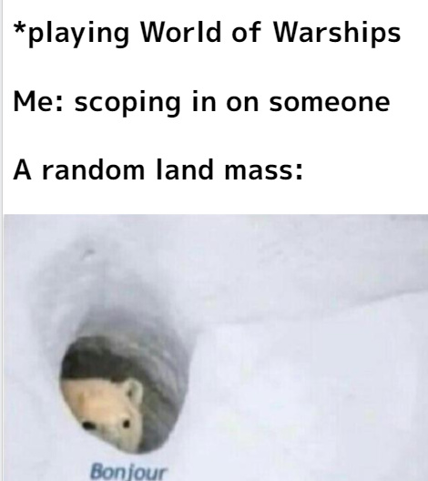 Only WoWs players will understand - meme