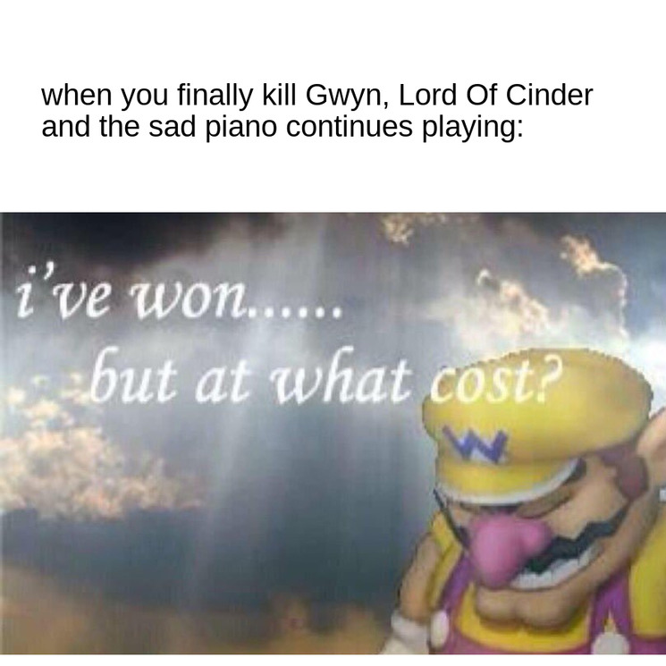 damn, this game is a masterpiece - meme