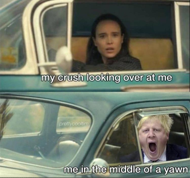 yawn - meme