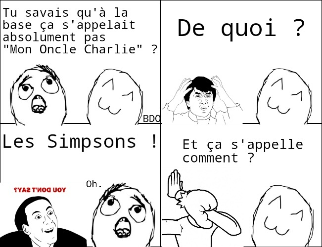 "Le vrai nom c'est "" Two and a half men "" - meme"