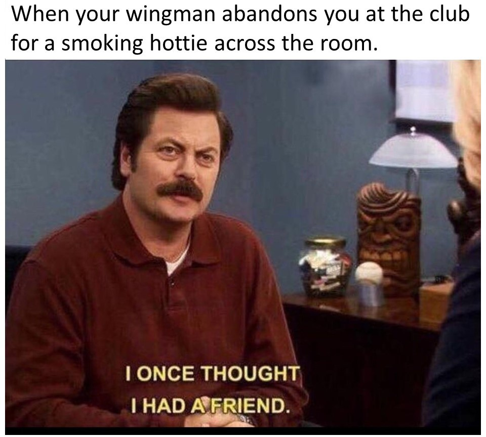 Ron Swanson Friend - meme