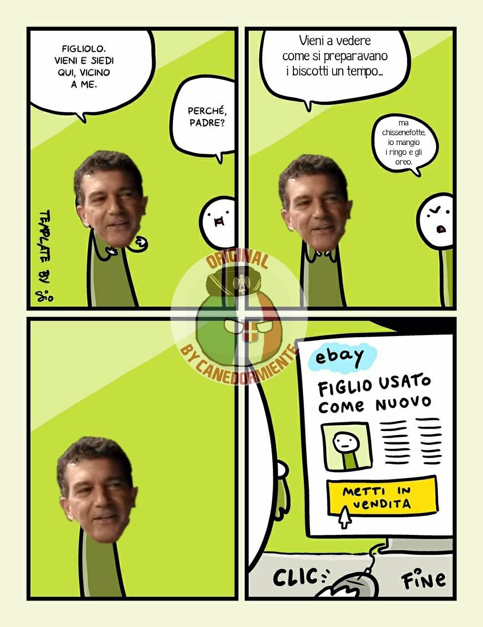 Banderas risolve tutto #2 - meme